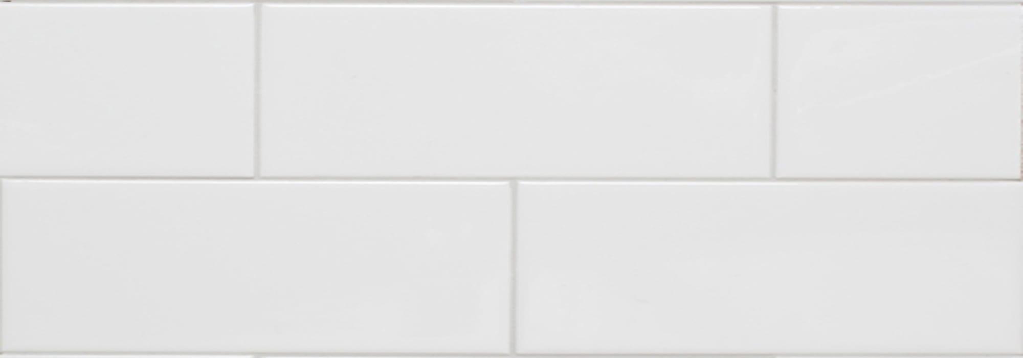קרמיקה לבן מט 30X10 by Milstone