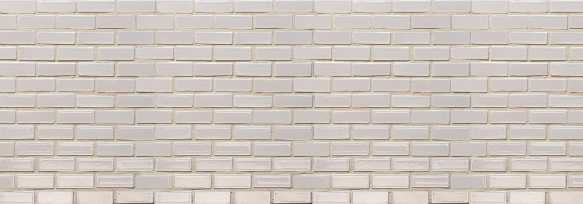 פסיפס קרמיקה לבן 1.5X5 by Milstone