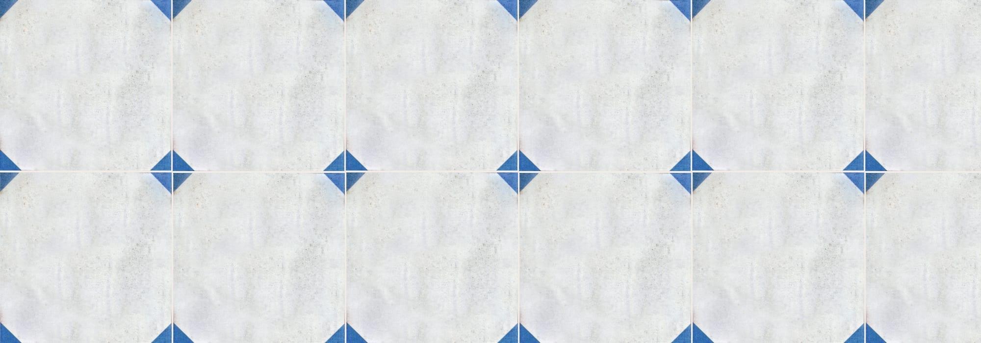 אריח קרמיקה אנדרומדה כחול 20*20 by Milstone