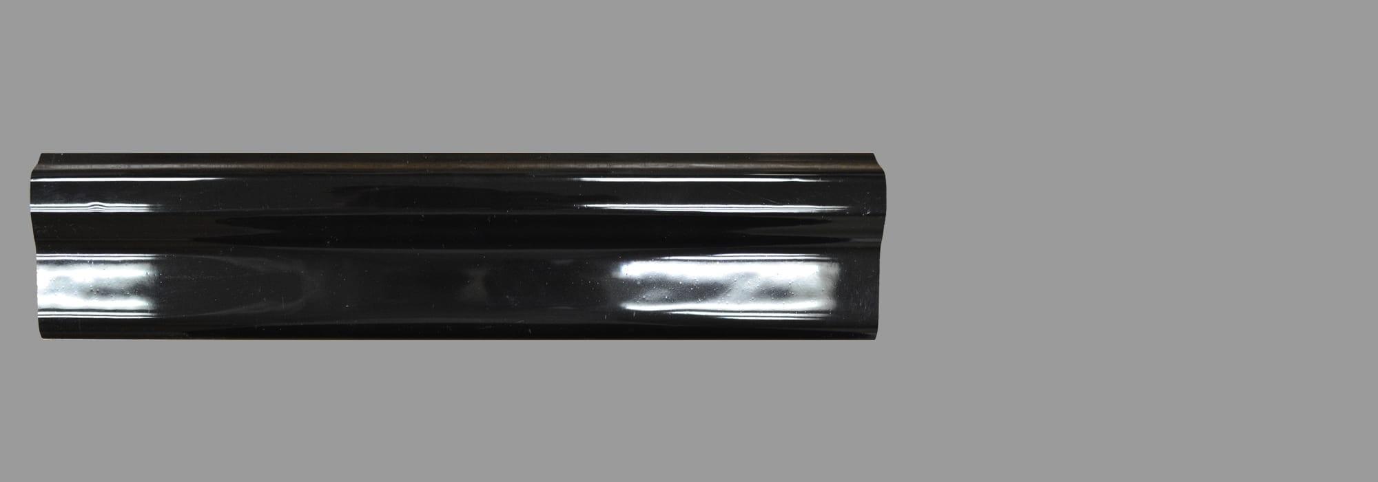 קרניז קרמיקה שחור (דגם 8) 30*5 by Milstone