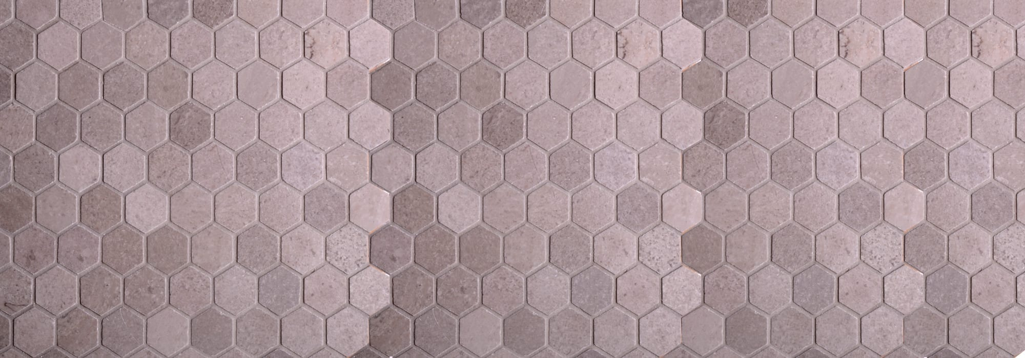 Shai Gray Hexagon Polished Mosaic by Milstone