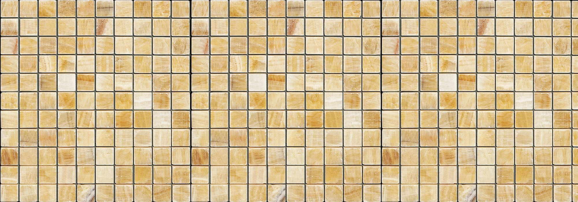 Honey Onyx Stone Mosaic 2.5*2.5 by Milstone