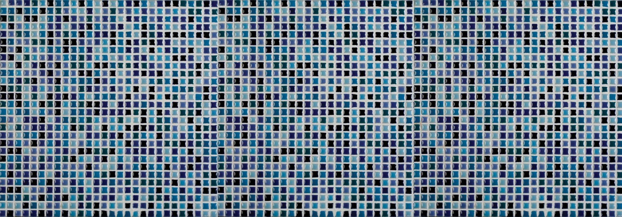 פסיפס קרמיקה אנג'י כחול מעורב by Milstone
