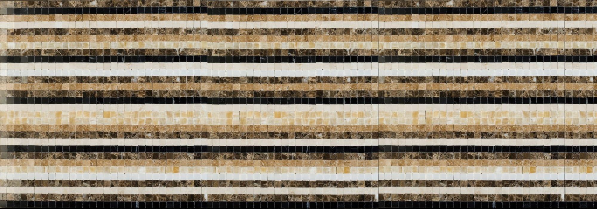 Corduroy Stone Mosaic by Milstone