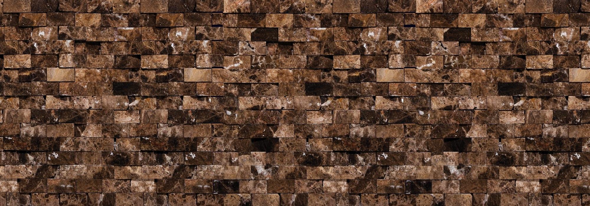 פסיפס אבן אמפרדור מבוקע 2*4 by Milstone