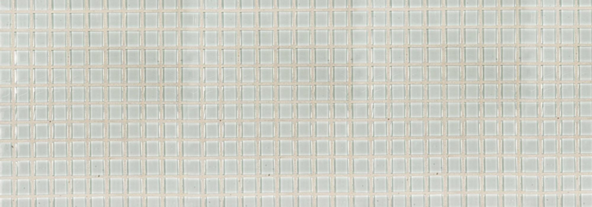 פסיפס זכוכית לבן עמוק by Milstone