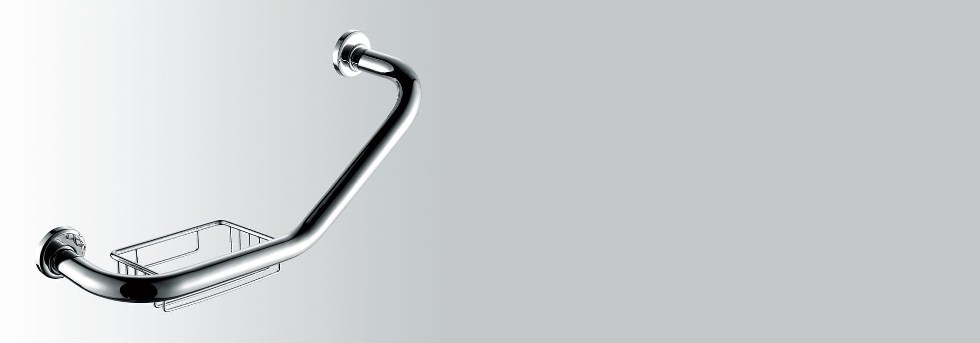 אביזר אמבטיה מעקה מתכת פליז דגם 654 by Milstone