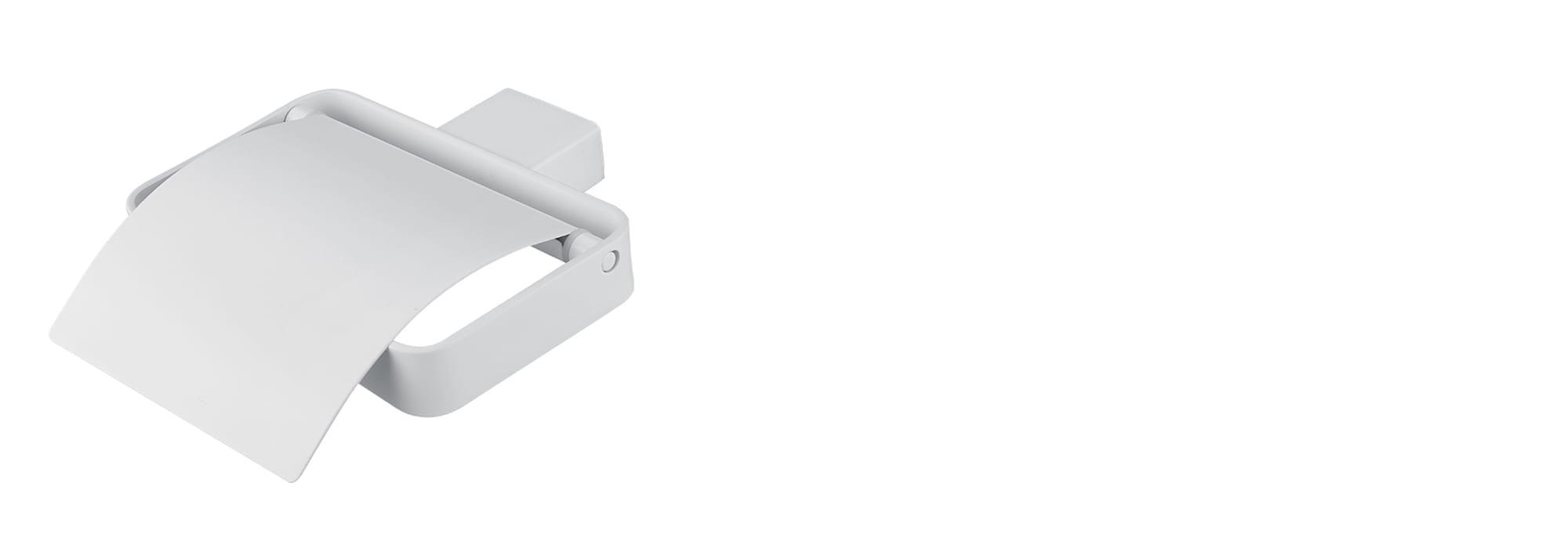 מאחז נייר מינימל לבן by Milstone