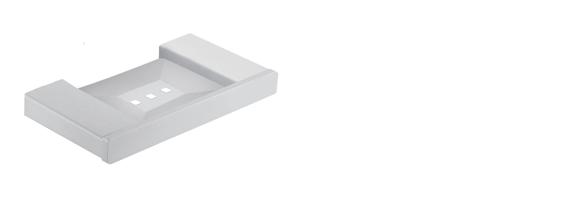 בית סבון מינימל לבן by Milstone