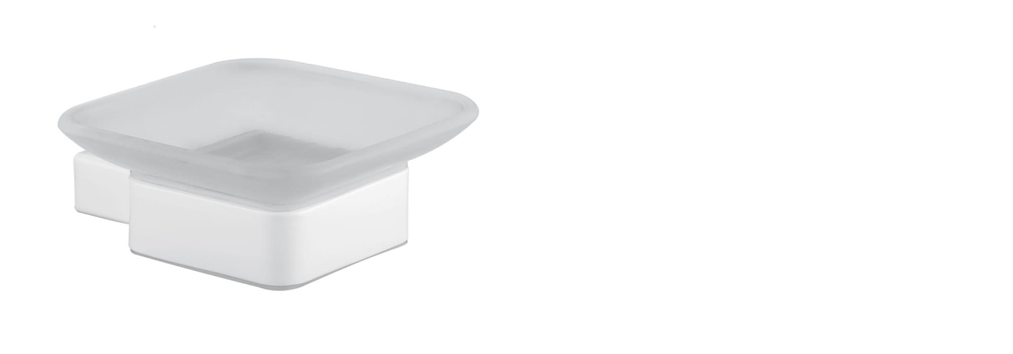צלחת סבון מינימל לבן by Milstone