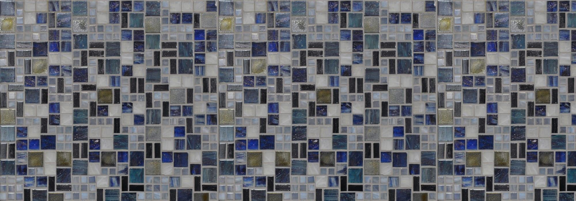 פסיפס זכוכית סאטוס מידות שונות by Milstone
