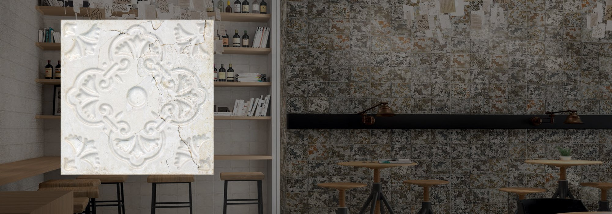 אריח קרמיקה אורנטו בז' 20*20 by Milstone