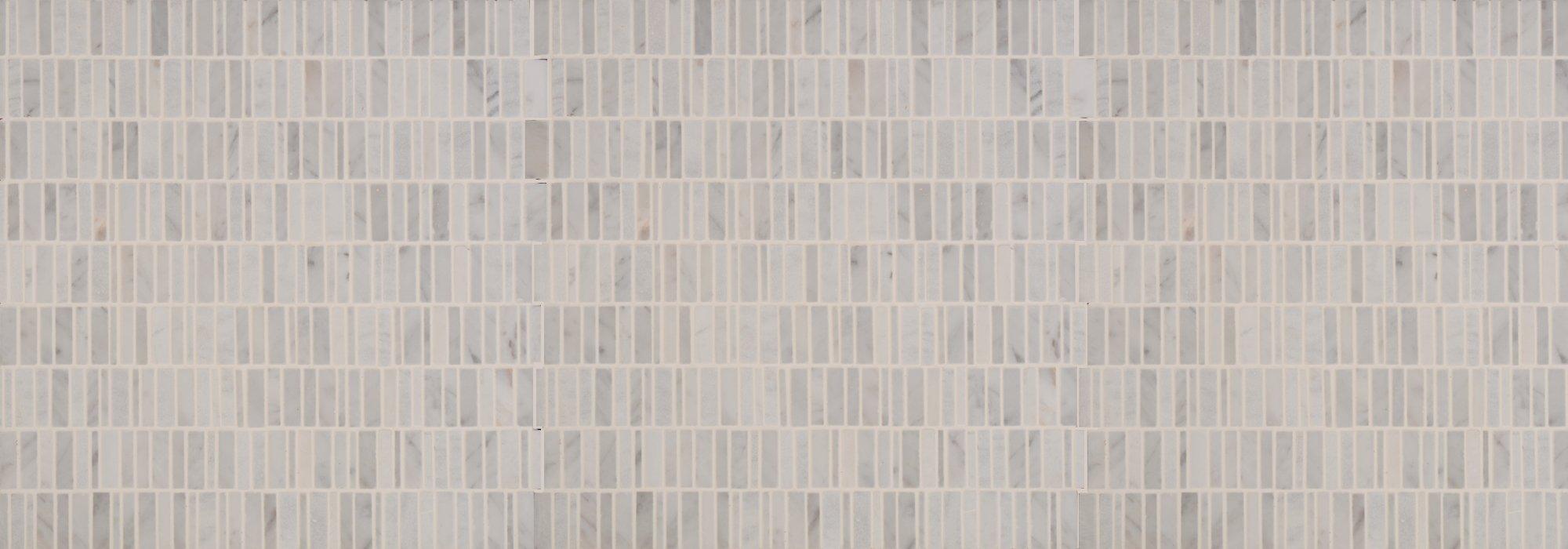 פסיפס אבן מקלות קררה by Milstone