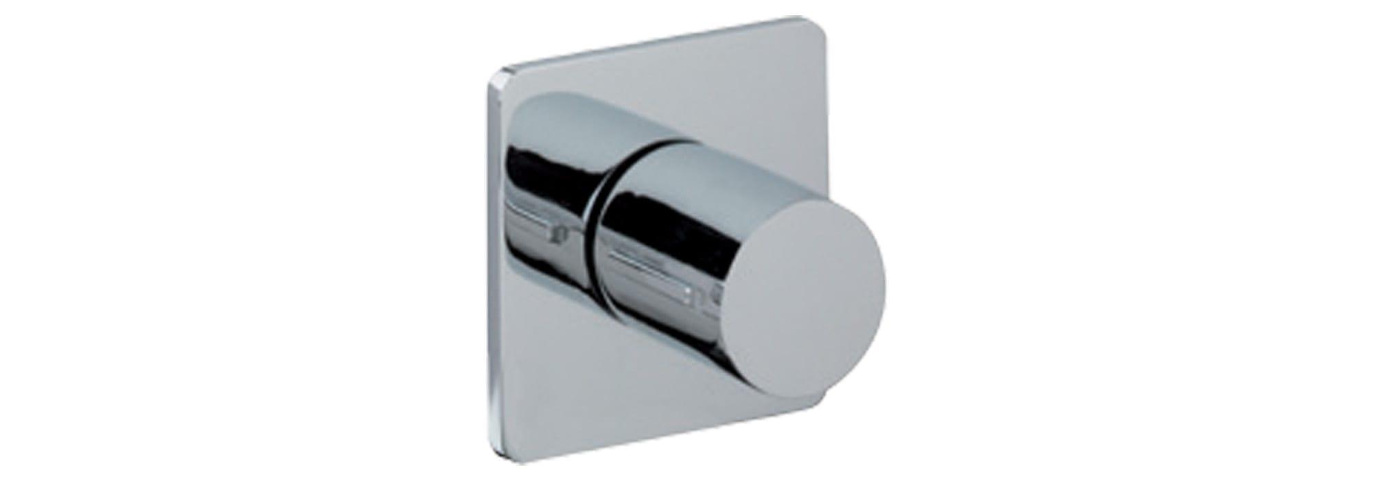 אינטרפוץ לכיור רחצה 3 דרך מקיר, כרום – T10.18.01.SV by Milstone