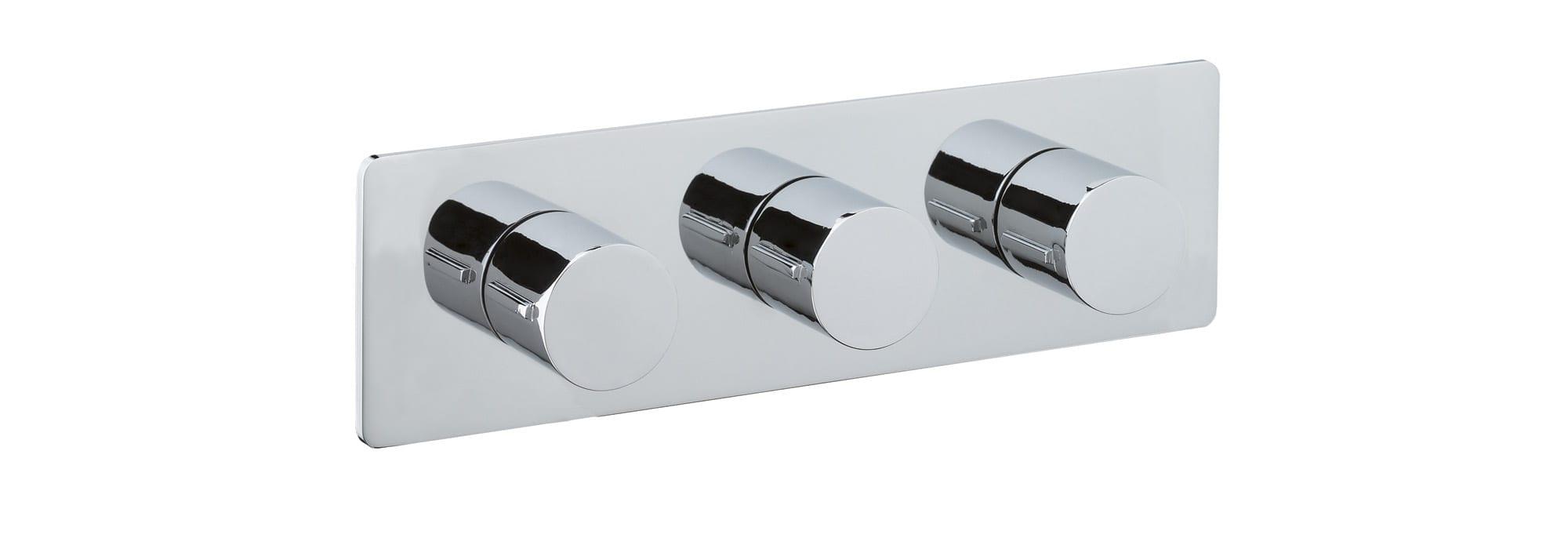 אינטרפוץ למקלחת 4 דרך, כרום – T10.32.01 by Milstone