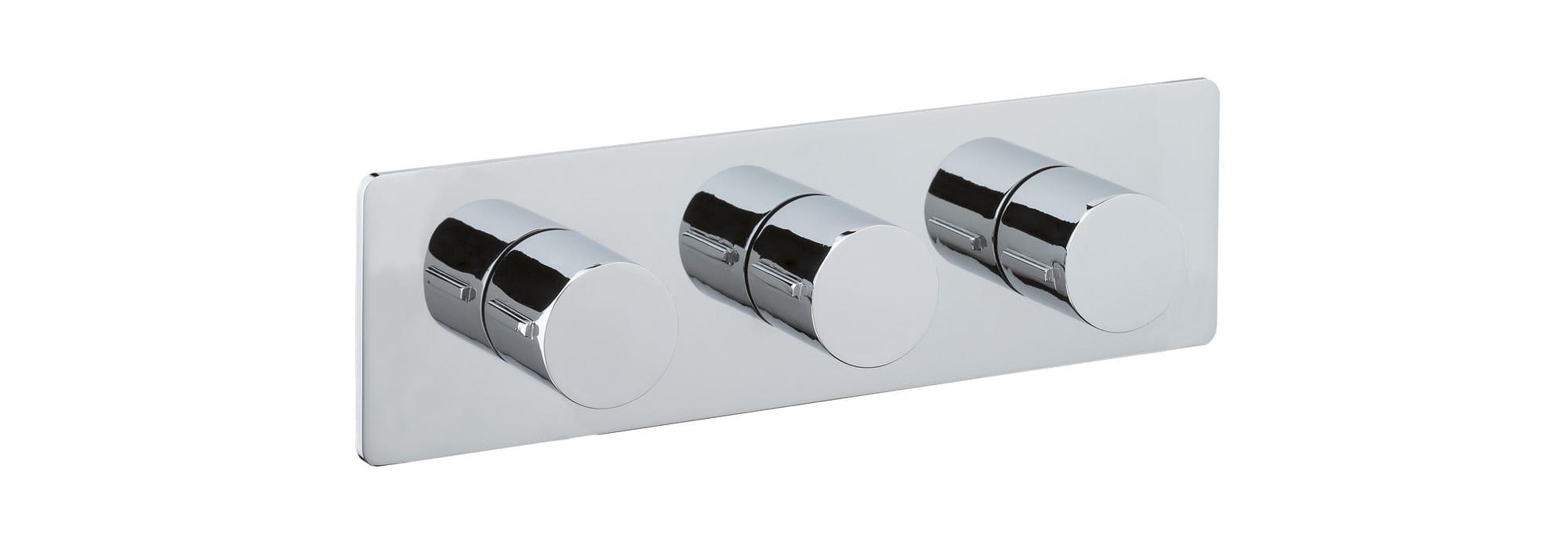 אינטרפוץ למקלחת 5 דרך, כרום – T10.36.01 by Milstone