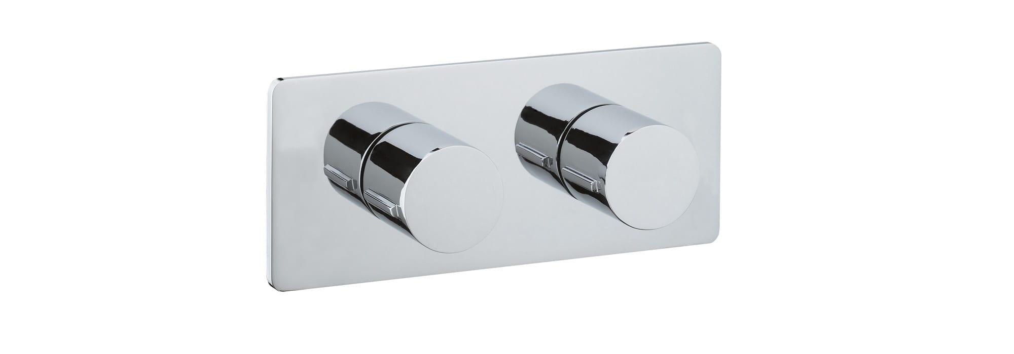 אינטרפוץ למקלחת 3 דרך,כרום – T10.42.01 by Milstone