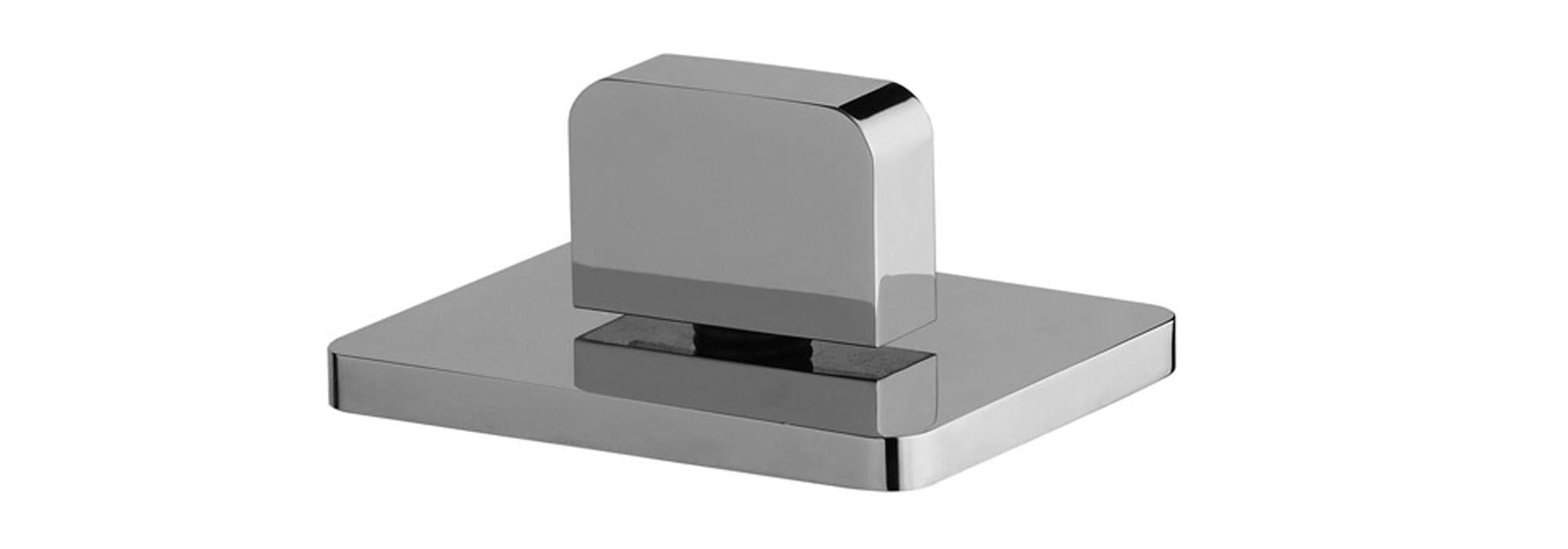 אינטרפוץ לכיור רחצה 3 דרך ממשטח כרום – T6.14.01.SV by Milstone