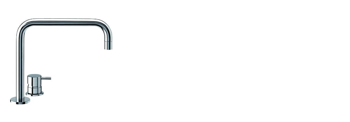 פיית מילוי H לכיור רחצה ממשטח – SP1.12H.01 by Milstone