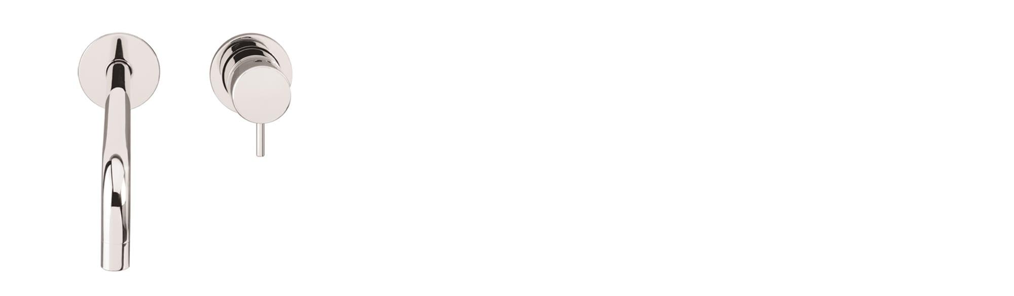 ברז קיר לכיור רחצה ,2 חלקים – T1.16B.01.SV by Milstone