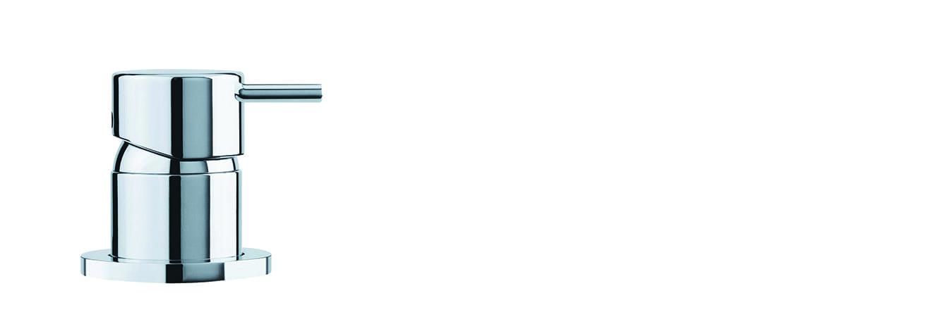 אינטרפוץ לכיור רחצה 3 דרך ממשטח – T1.14.01.SV by Milstone