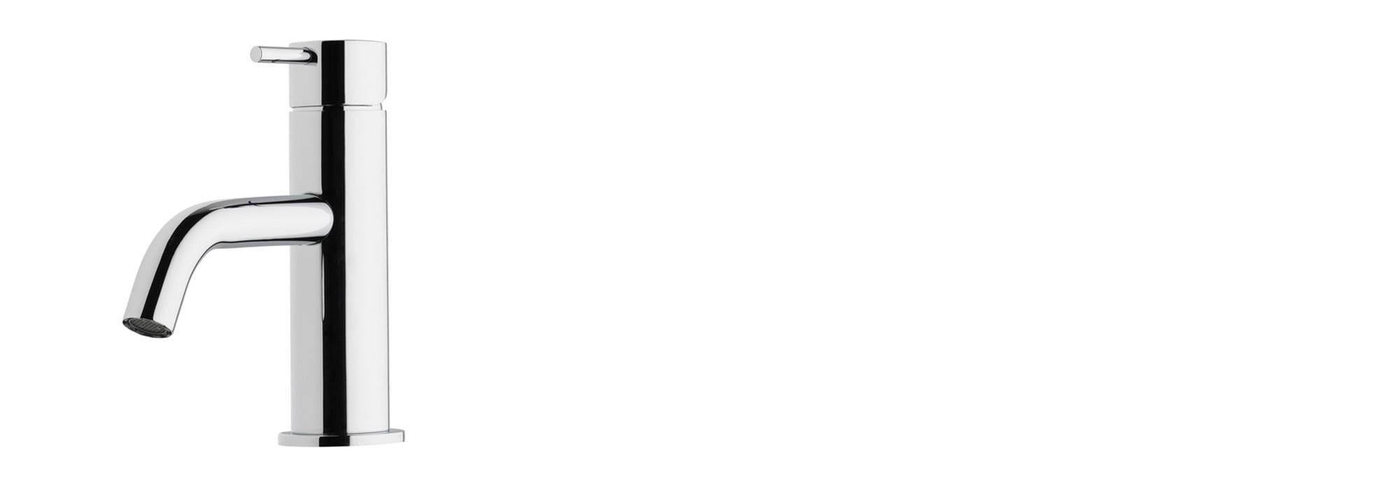 ברז פרח נמוך לכיור רחצה – T1.10.01.SV by Milstone