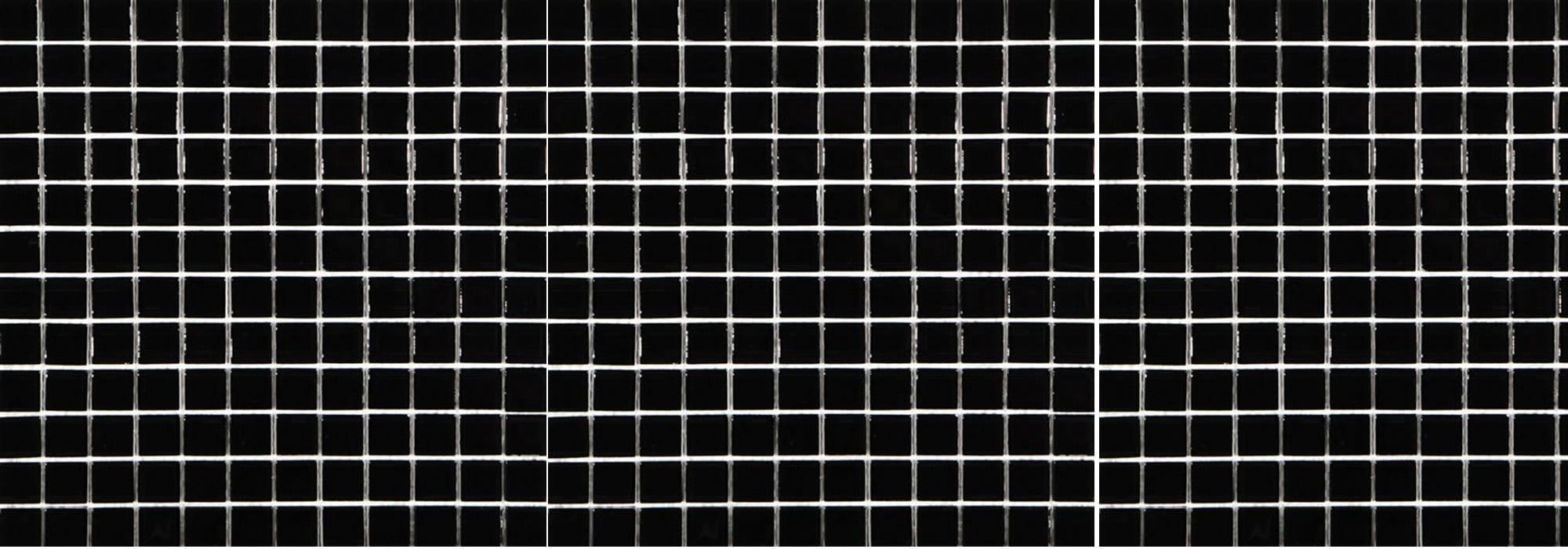 פסיפס פורצלן שחור by Milstone