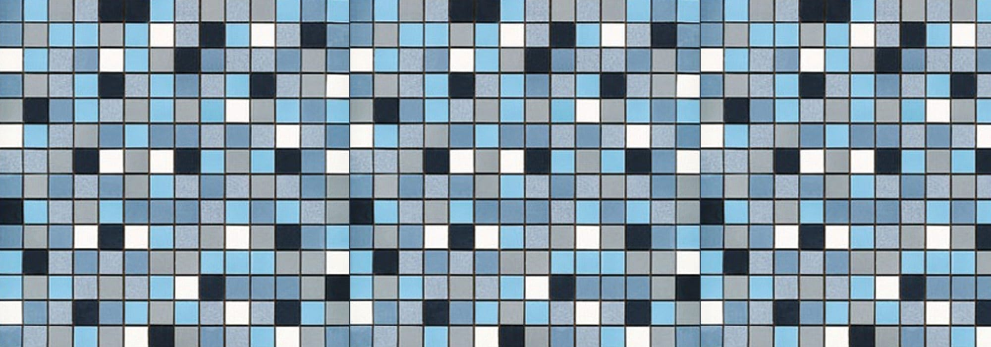 פסיפס פורצלן כחול by Milstone