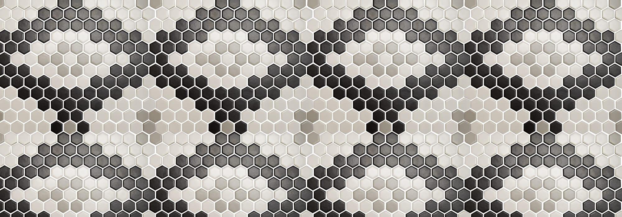 פסיפס קרמיקה אליאס מט 0.6*2.6*2.3 (רשת 30*26) by Milstone